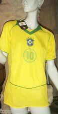 Brésil Maillot XXXL football coupe du monde 10 S M L XL XXL BRASIL SOCCER NEUF
