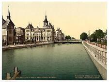Canal Y Post mulhausen de Alsacia, Lorena A4 Foto Impresión