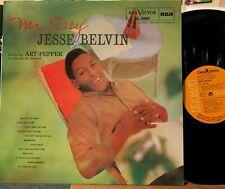 Jesse Belvin Mr. Easy + Art Pepper Vinyl LP RCA NL-45664 Near Mint Import Spain