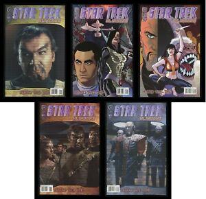 Star Trek Klingons Blood Will Tell Comic Set 1-2-3-4-5 Lot B IDW James T Kirk