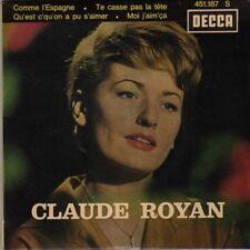 CLAUDE ROYAN COMME L'ESPAGNE FRENCH ORIG EP JEAN-CLAUDE PELLETIER
