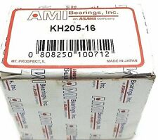 NIB AMI KH205-16 BALL BEARING INSERT KH20516 1.0000 IN ID, 2.0472 IN OD, 1.2188