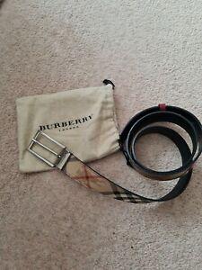 Burberry Belt nova check 40/100