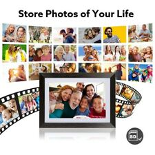 Digital Portable UeeVii Smart Digital Picture Frame 10.1'' WiFi with HD Display!