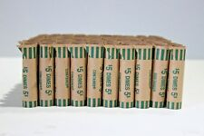 200 Preformed Dime Tubes Paper Coin Wrapper 10 Cent Dimes Shotgun Roll Counter