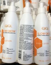 3 GiGi Slow Grow Hair Daily Moisturizing Body Lotion, 8 oz Trio