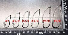 WEEDLESS Sproat Fishing Hooks YOU PICK SIZE QUANTITY #2 #1/0 #2/0 #3/0 #4/0 #5/0
