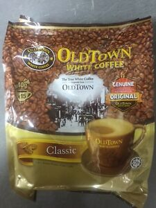 Old Town Instant White Coffee 3 in 1 OldTown Classic 38G x 15 Sachets