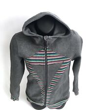 IVIVVA By LULULEMON Girls Sports Scuba Jacket  Hoodie Thump holes Gray Size 12