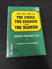 vintage Sleaze Exotic The Sex Life Of Single ,engaged & Married 1952 Adult Book