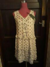 Amazing All Saints Deirdre Ruffle Dress Size L BNWT