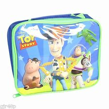 Disney Toy Story Insulated Lunch Bag Childs Kids Nursery School Pixar