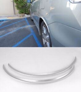 """29"""" Silver Diffuser Wide Fender Flares Lip For Toyota Wheel Wall Panel Bumper"""