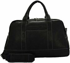 "NEW KENNETH COLE NEW YORK LEATHER 20"" TOP ZIP DUFFLE BAG #580715 CARRY ON"