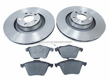 AUDI A6 4.2 QUATTRO 2004-2009 FRONT 2 BRAKE DISCS AND PADS SET NEW