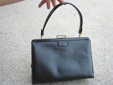 Vintage Coblentz Original Dark Brown Black Purse Hand Bag Cluth Bag