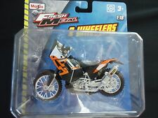 Maisto KTM 450 Rally 1/18 Motorcycle Bike