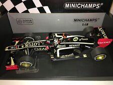 1:18 Minichamps Lotus Renault E20 Kimi Raikkonen winner Abu Dhabi 2012 - 2016pcs