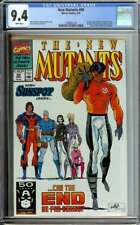 NEW MUTANTS #99 CGC 9.4 WHITE PAGES