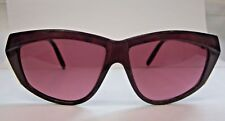 VINTAGE 1980S NEW CHARLES JOURDAN SUNGLASSES BOOGIE  BURGUNDY OR TORTOISE