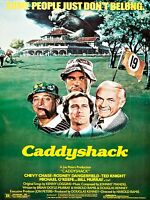 1980 Caddyshack Movie Poster High Quality Metal Fridge Magnet 3x4 9870