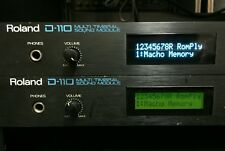 Roland R-8M / D-110 / U-110 / S-330 / GR-50 Oled Display !