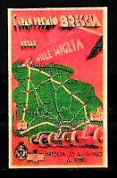 Erinnofilo - 1940 - Automobilismo -  Brescia Mille Miglia  con  gomma - Linguell
