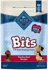 Blue Buffalo BLUE Bits Natural Soft-Moist Training Dog Treats Beef Recipe 16-...