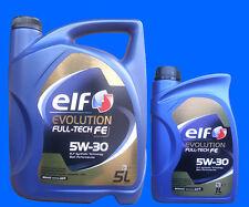 # 5L+1L 5W-30 Elf EVOLUTION FULL-TECH FE ( SOLARIS DPF ) Motoröl RENAULT 5W30 ÖL