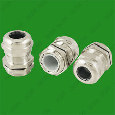 Stainless Steel Cable Gland 5 - 10mm Wire Stress Relief, PG11 Waterproof Thread
