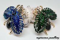 Vintage Style Crystal Insect Brooch Beetle Enamel Pin Animal Metal Clothes Gift