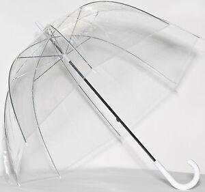 Clear See Through Bubble Dome Elite Fashion Rain Umbrella