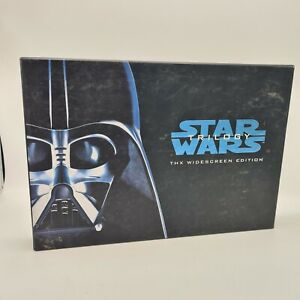 Star Wars Trilogy VHS 1995 THX Widescreen Edition Box Set