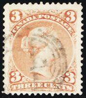 25, Used VF 3¢ Stamp - PRICED VERY LOW! - Stuart Katz
