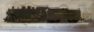 Bachmann Spectrum N Scale 81154 2-8-0 Baltimore & Ohio New In Case