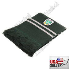 Harry Potter Slytherin Thicken Wool Knit Scarf Wrap Warm Costume Xmas New Gift