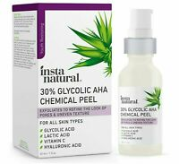 Glycolic Acid 30% AHA Chemical Peel - Blackhead, Dark Spot & Acne Scar Removal