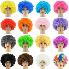 Retro Wet Look Afro Wig Tight Curl Fancy Dress Soul 70/'s Pimp Jerry Curl Short