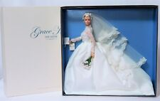 Rare GRACE KELLY THE BRIDE 2011 SILKSTONE Barbie Gold Label BFMC Doll_T7942_NRFB