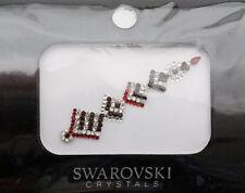 Bindi bijoux piel boda frente strass cristal de Swarovski RUBÍ INHB 2734