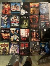 Horror Dvd Lot Pick and Choose $4 Flat Rate Free after First Combined Shipping