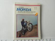New Sealed Honda 100 350cc OHC Singles 1969 Clymer Service Repair Manual L396