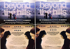 BEYOND THE HILLS MOVIE FILM POSTCARDS X 4 CRISTIAN MUNGIU COSMINA STRATAN