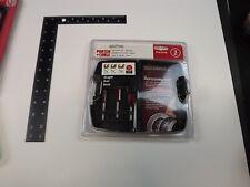NEW Porter Cable Router Bit Set 3 Piece Straight PC03STR Original Storage Case