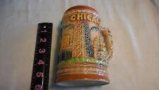 Chicago vintage ceramic souvenir mug, made in Japan