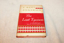 1941 The Last Tycoon An Unfinished Novel by F Scott Fitzgerald HB/DJ