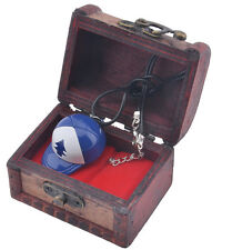 Gravity Falls Dipper Pines BLUE PINE TREE Necklace With Woodbox