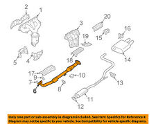 NISSAN OEM 04-06 Altima 2.5L-L4 Exhaust System-Front Pipe 200203Z800