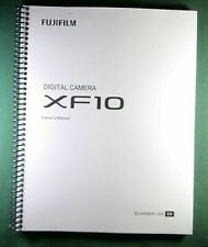 Fujifilm XF10 Instruction Manual: Full Color & Protective Covers!