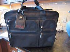 TUMI ALPHA 26103D4 Wheels Ballistic Nylon Expandable Carry On Laptop Travel Bag